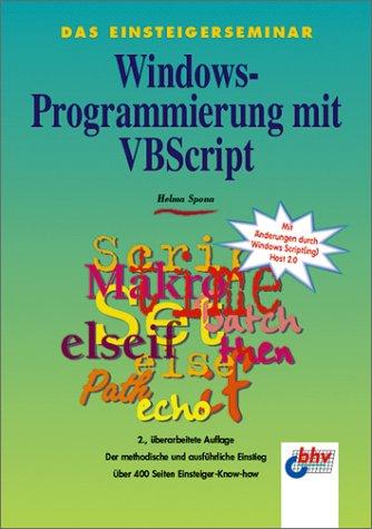 Windows-Programmierung mit VBScript