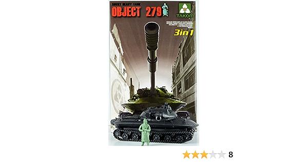 TAKOM 2001 1//35 SOVIET HEAVY TANK OBJEGT 279 3IN 1  plastic model kit