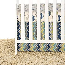 Glenna Jean Uptown Traffic 2 Piece Boy's Crib Bedding Set