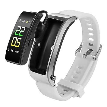 Gyfdjh Auriculares Bluetooth 2 en 1 Smartwatch, Deportes Fitness ...