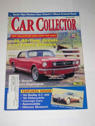 Car Collector Magazine January 2000 1965 Ford Mustang