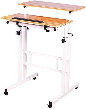 lacyan altura ajustable pie portátil escritorio sofá mesa portátil ...