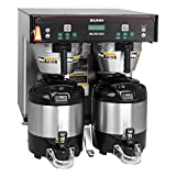 Bunn 37600.0012 ICB-TWIN Infusion Series Coffee Brewer, Low Profile (Servers Sold Separately)