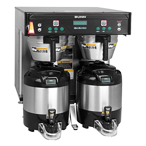 Bunn 37600.0012 ICB-Twin Infusion Series Coffee Brewer, Low Profile (Servers Sold Separately) (120/240V)