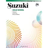 Suzuki Cello School, Vol 1: Cello Part, Book and CD
