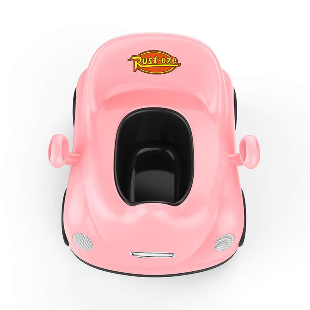 XWJC Children's Toilet Baby Urinal Potty Child Urinal Plus Large Child Urinal Child Toilet Trainer (Color : Pink) by XWJC (Image #4)