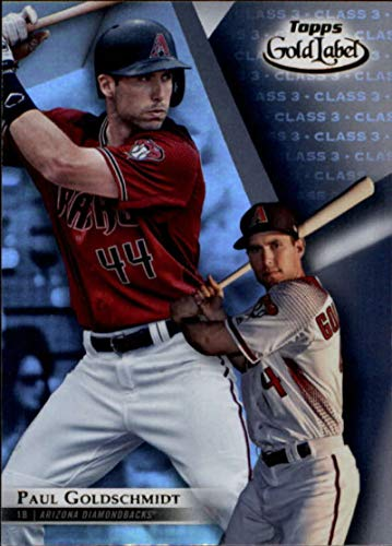 2018 Topps Gold Label Class 1#18 Paul Goldschmidt Arizona Diamondbacks Baseball Card