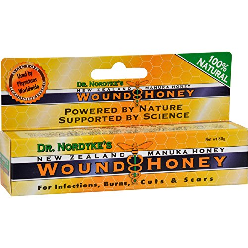 Wound Honey, Manuka Honey Wound Cream with Active Manuka Honey (1 Color, 2 Pack) ()