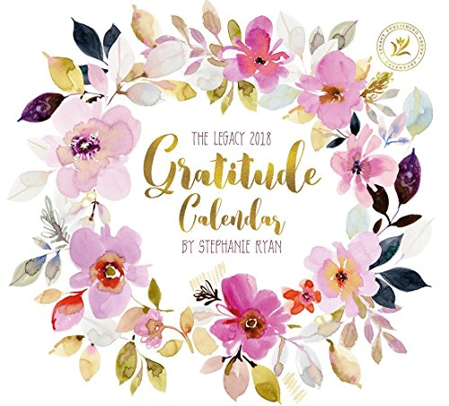 Legacy Publishing Group 2018 12-Month Wall Calendar, Gratitude