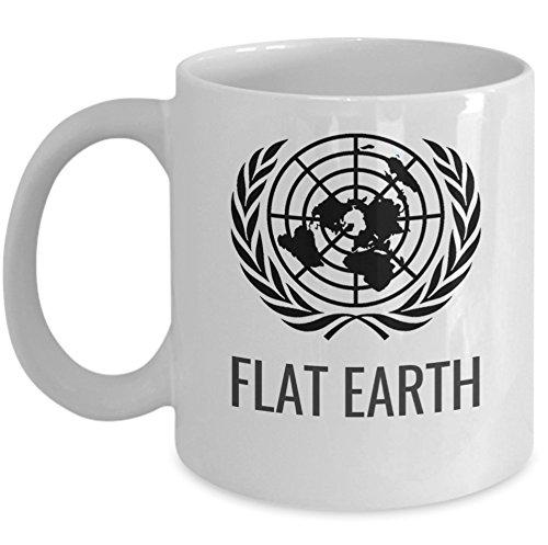 Amazon.com: Flat earth coffee mug   Flat Earth map   unique 11oz