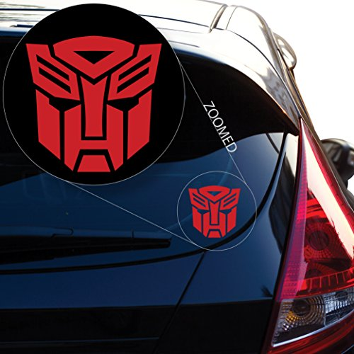 Autobot Laptop - Autobot inspired Transformer Decal Sticker for Car Window, Laptop and More. # 544 (4