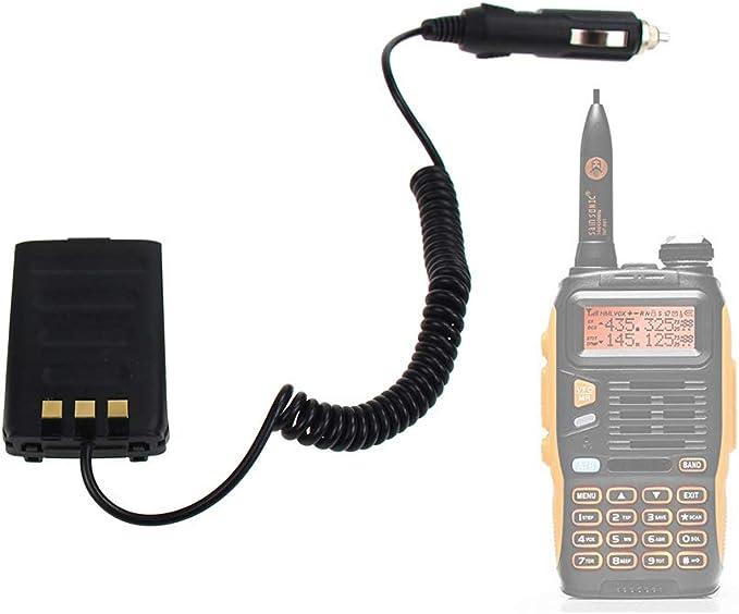 Walkie Talkie Akku Eliminator Auto Ladegerät Für Baofeng Gt 3tp Gt3 Gt3tp 3 Mark Ii Mark Iii Zwei Wege Radio Original Navigation Car Hifi