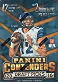 #3: 2016 Panini Contenders NFL Draft Picks Football Unopened Blaster Box of Packs with 2 GUARANTEED AUTOGRAPHS Per Box Try for Jared Goff, Carson Wentz, Paxton Lynch and Others