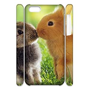 Rabbit 3D-Printed ZLB824347 DIY 3D Phone Case for Iphone 5C