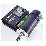 ELEOPTION CNC Spindle Motor Driver Kit with LCD Control Panel NVBDH DC Brushless 400W 48V