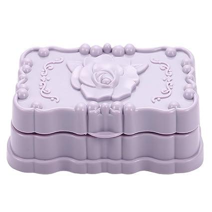 Amazing New Hard Plastic Flower Shape Soap Dish Soap Holder Soapbox H