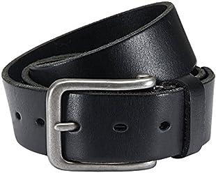 Eg-Fashion Herren Jeansgürtel in 4 cm breite Ledergürtel 100% argentinisches Rindsleder - Individuell kürzbar - 2 Jahre Garantie