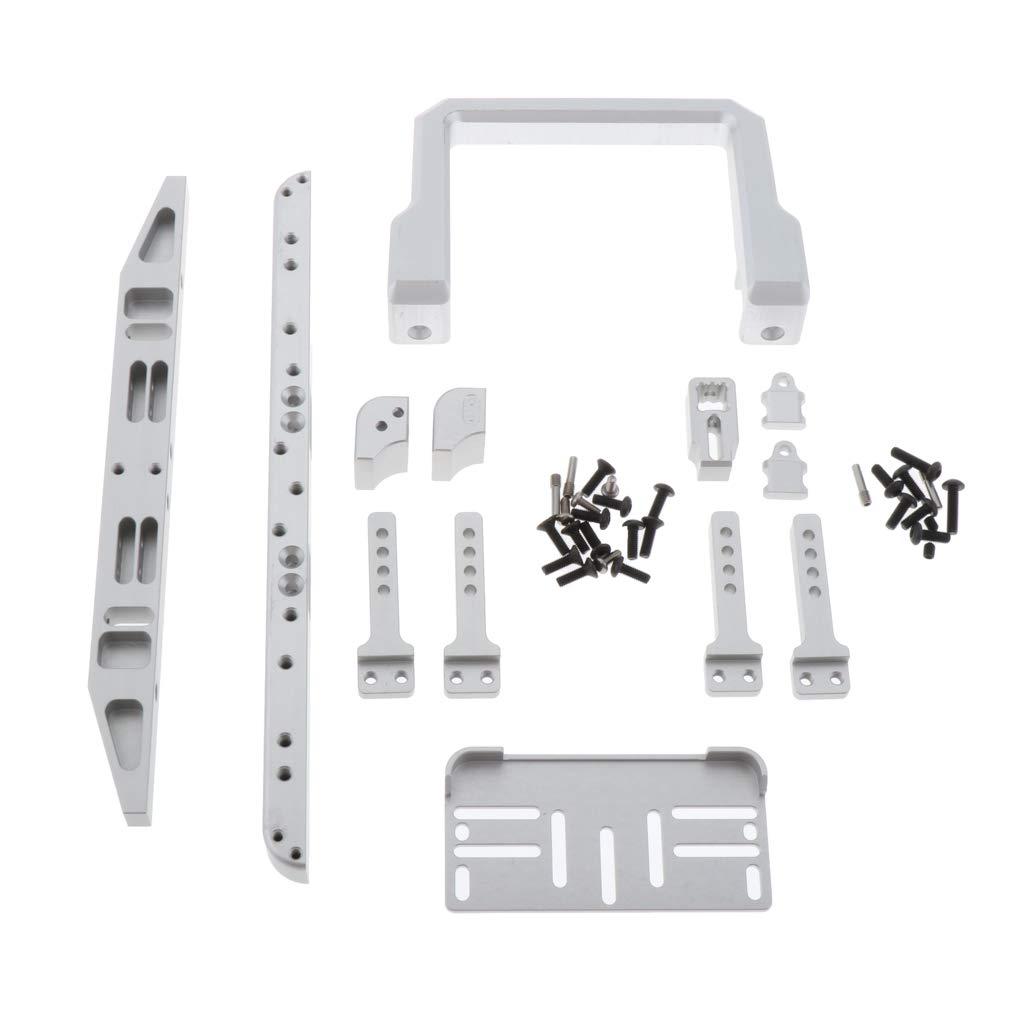 IPOTCH Bumper Front Rear Bumper Accessories For TRX-4 TRX4 1//10 RC Crawler Car