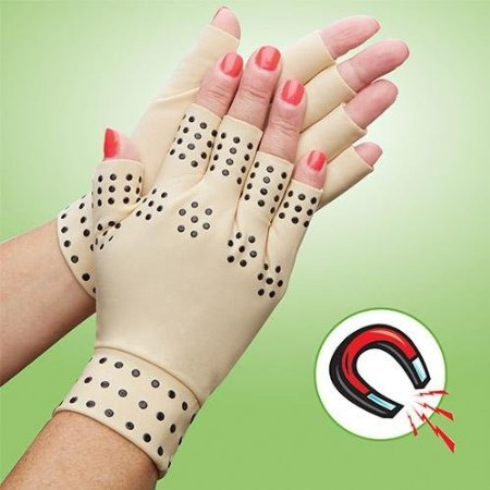 EasyComforts Arthritis Compression Gloves Magnets product image