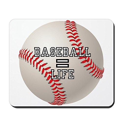 Mousepad (Mouse Pad) Baseball Equals Life