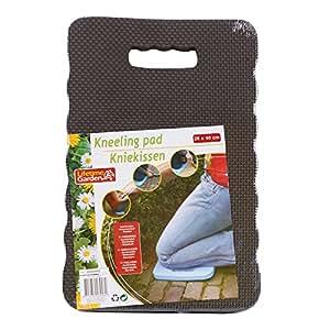 Lifetime Garden Cojín para rodillas (26x 40cm en verde, azul o gris para jardín, coche o en casa, gris