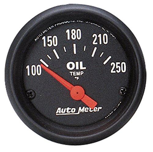 Auto Meter 2638 Z-Series Electric Oil Temperature Gauge by Auto Meter