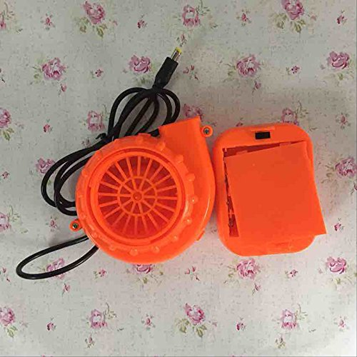 Mini Air Fan Blower Battery Pack for Inflatable Mascot Costume Cooling (Guy In Squirrel Costume)