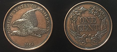 REPLICA 1856 Flying Eagle Indian Head Penny or Cent. Big Huge Large 3