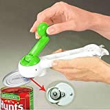 7 In 1 One Touch Kitchen Can Opener Bottle Jar Do As Seen On TV Knife Slicker EA