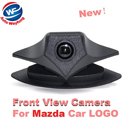 Auto Wayfeng WF Car Front Cam Parking System IP68 Waterproof Wide Angle 480 TVL HD Color for Mazda Logo Front Camera Mazda 2 3 5 6 8 CX-7 CX-9