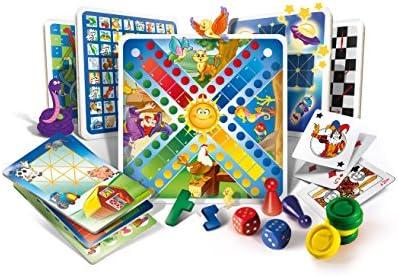 Clementoni 12952 - Set de 100 Juegos Reunidos (versión en Italiano): Amazon.es: Juguetes y juegos