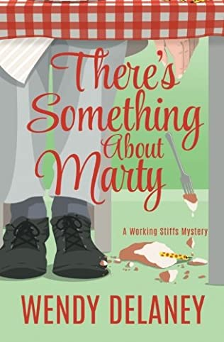 book cover of There\'s Something About Marty