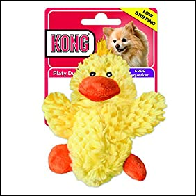 KONG Plush Noys Duck Sm