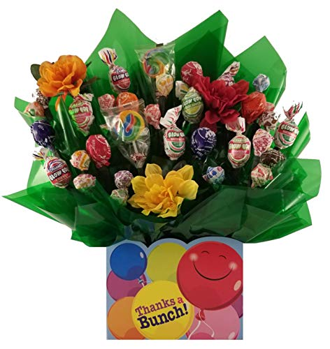 Lollipop Candy bouquet in a Thanks a Bunch box