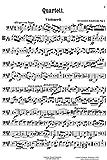 Zemlinsky, Alexander : Quartett, A dur, fur 2 Violinen, Bratsche und Violoncell, Op. 4.