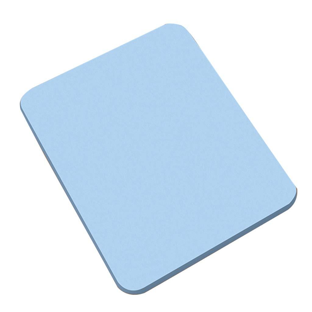 Bath Mat,Kids' Bath Rugs Bath Mat Diatom Mud Foot Pad Bathroom Non-Slip Mat Water Absorption Quick Drying Bathroom Bathroom Doorway Carpet Household WEIYV (Color : Blue 4030cm, Size : A)
