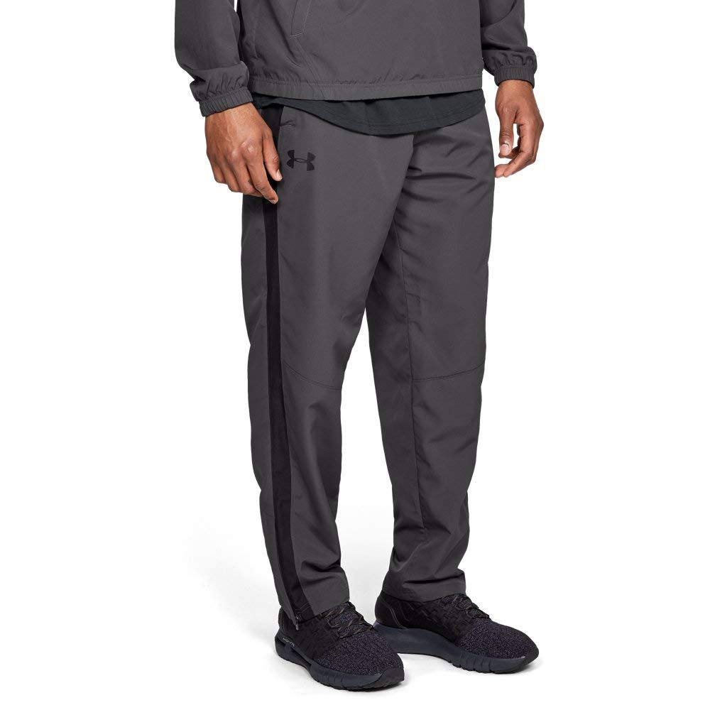 Under Armour Men's Sportstyle Woven Pants , Charcoal (019)/Charcoal, Small