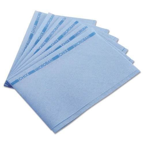 Chix 8253 Food Service Towels, 13 x 21, Blue, 150/Carton