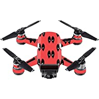 Skin For DJI Spark Mini Drone – Dead Eyes Pool | MightySkins Protective, Durable, and Unique Vinyl Decal wrap cover | Easy To Apply, Remove, and Change Styles | Made in the USA
