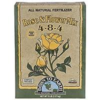 Down to Earth Organic Rose & Flower Fertilizer Mix 4-8-4, 5 lb