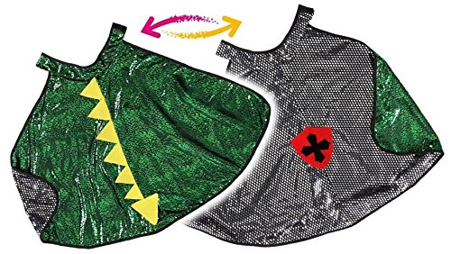 CreativeEducation 55693 Reversible Dragon / Knight Cape