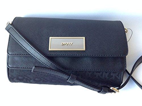 dkny-heritage-saffiano-black-crossbody-double-flip-purse