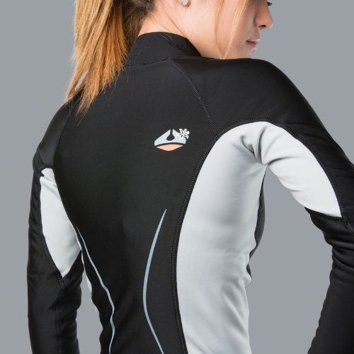 New Women's LavaCore Trilaminate Polytherm Long Sleeve Shirt (X-Small) for Extreme Watersports