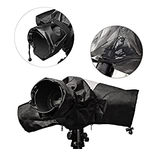 Mudder Rain Cover Camera Protector Rainproof for Canon Nikon and Other Digital SLR Cameras from Mudder