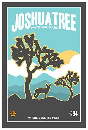 Joshua Tree National Park, California Travel Art Print Poster by Matt Brass (12