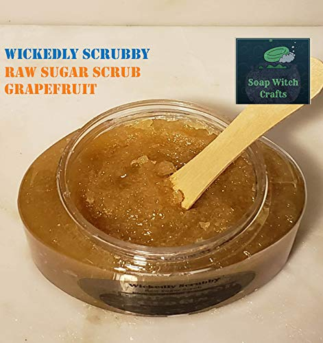Wickedly Scrubby Raw Sugar Scrubs - Grapefruit by Soap Witch Crafts