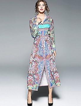 JIALELE Vestido Fiesta Mujer,De Fiesta La Mujer Vestidos Sueltos,Imprimir Collar De La