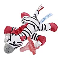 Dr. Brown's Lovey Pacifier and Teether Holder, 0m+, Zebra with Pink Pacifier