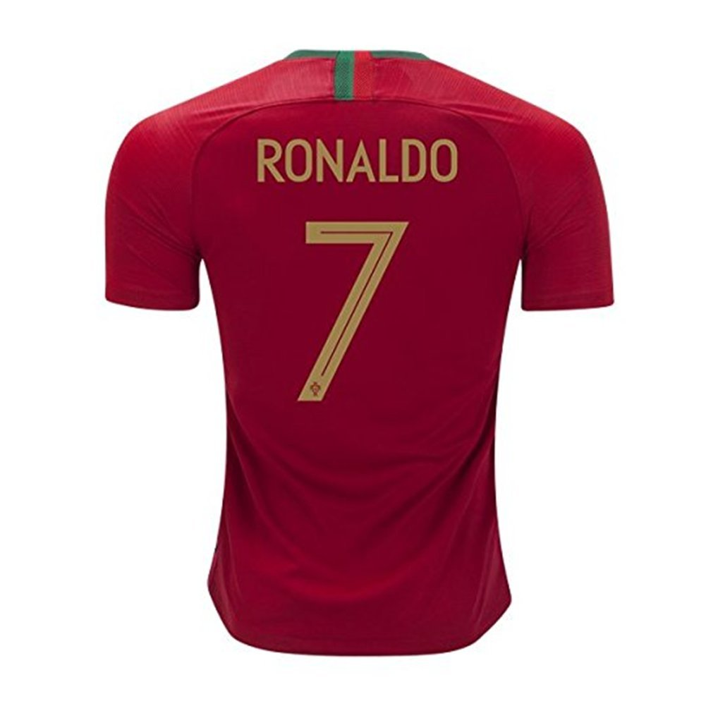 detailed look 8e5ee 0d724 7 C Ronaldo Jersey Portugal National Team 2018 World Cup Mens Soccer Jersey  Red Size S