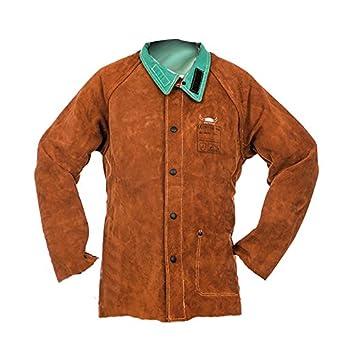 Weldas E44 - 7300l soldadura chaqueta, tamaño L: Amazon.es: Industria, empresas y ciencia